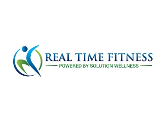 Real Time Fitness logo design