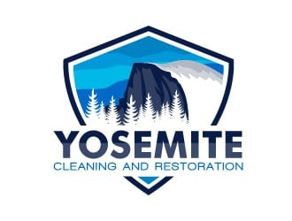 Yosemite Cleaning and Restoration logo design