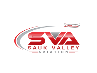 Sauk Valley Aviation logo design