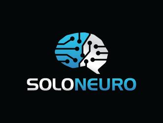 SoloNeuro logo design