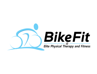Bike Fit @ Elite Physical Therapy and Fitness logo design