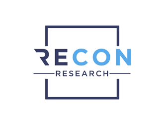 Recon Research logo design