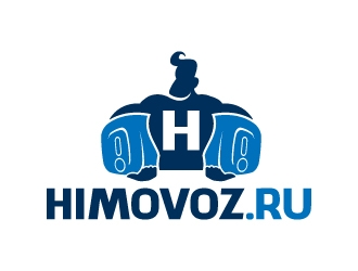 himovoz.ru logo design