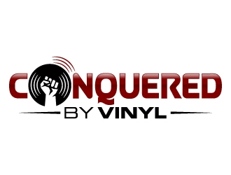 Conquered by Vinyl logo design