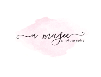 a magee photography logo design