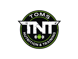 Toms Nutrition & Training logo design