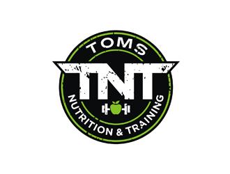 Toms Nutrition & Training logo design
