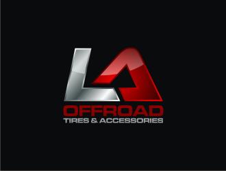 LA OFFROAD  logo design