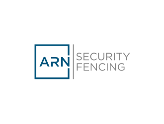 Arn Security Fencing logo design