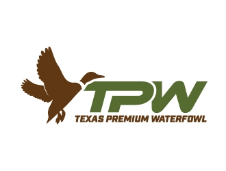Texas Premium Waterfowl logo design