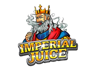 Imperial Juice logo design