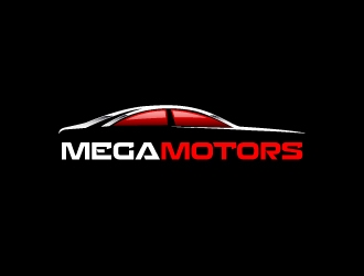 MEGA MOTORS logo design