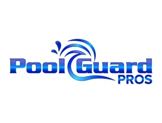 Pool Guard Pros logo design