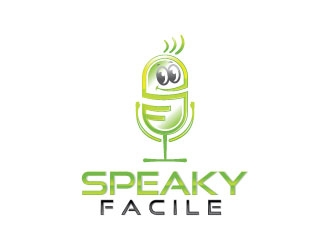 Logo and international solution name is Speaky Facile (Facile means Easy) logo design