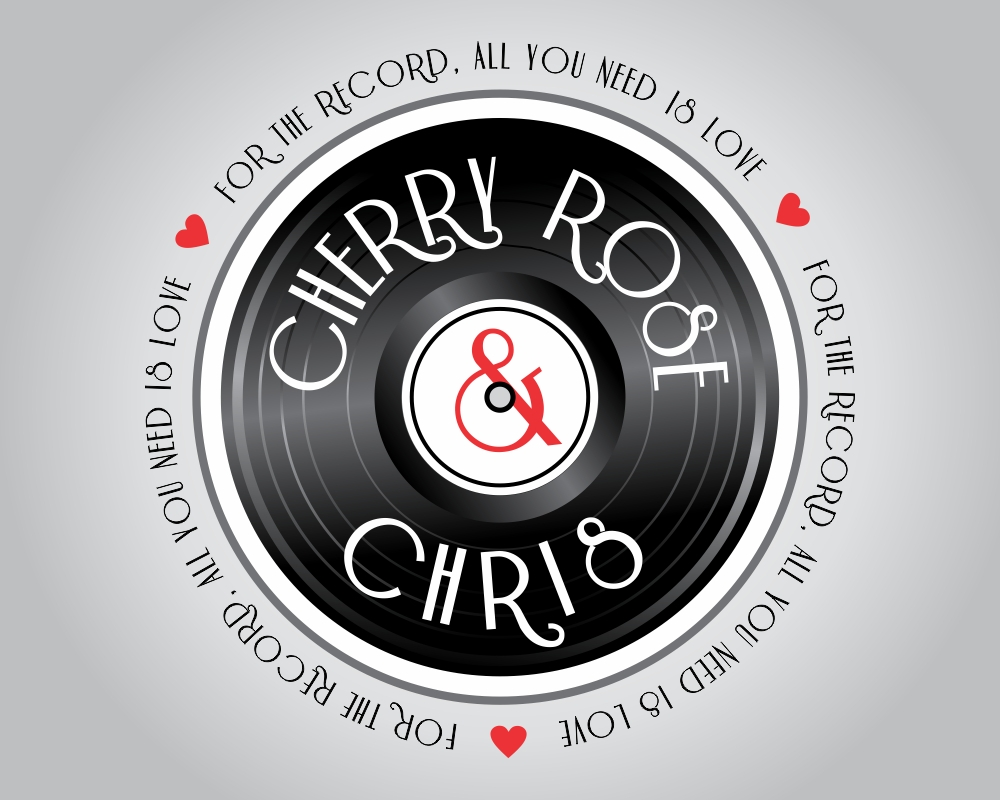 Cherry & Chris P.  For the record, all you need is Love logo design
