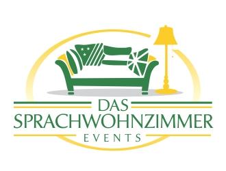 Das Sprachwohnzimmer logo design