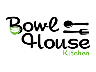 Bowl House Kitchen logo design