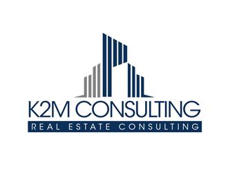 K2M Consulting, LLC logo design