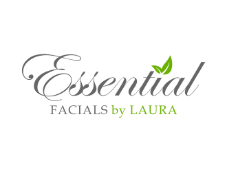Essential Facials by Laura logo design