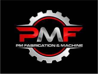 PM Fabrication & Machine logo design