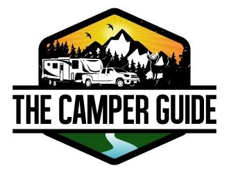 The Camper Guide logo design