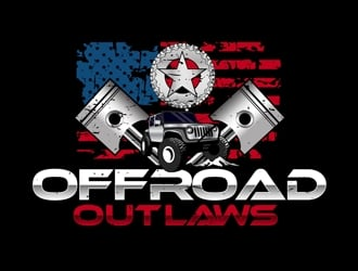 Offroad Outlaws logo design
