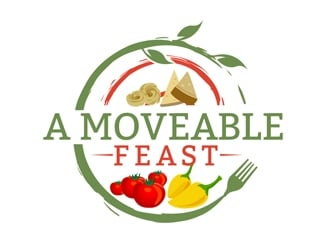 A Moveable Feast logo design