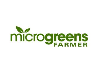 Microgreens Farmer , microgreensfarmer.com logo design