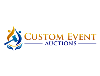 Custom Event Auctions logo design