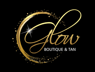 Glow Boutique & Tan logo design