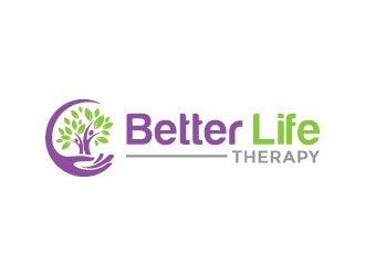 better life therapy logo design