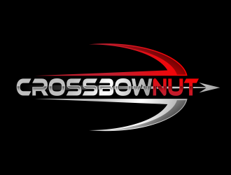 Crossbow Nut logo design