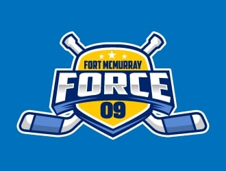 Fort McMurray Force logo design