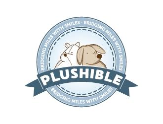 PLUSHIBLE logo design