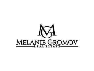 Melanie Gromov logo design