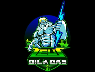 Zeus Oil & Gas logo design