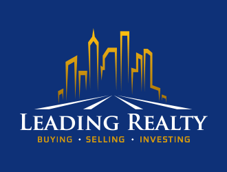 Leading Realty logo design