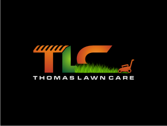 Thomas Lawn Care logo design
