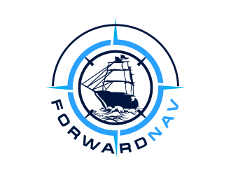 ForwardNav logo design