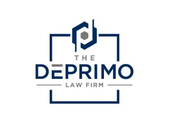The DePrimo Law Firm logo design