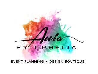 Aura by Ophelia  logo design