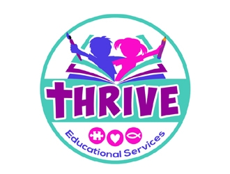 Thrive Educational Services logo design