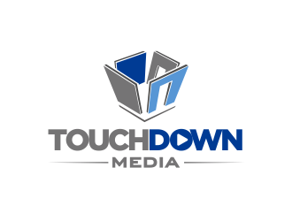 Touchdown Media  logo design