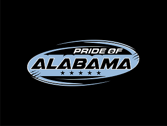 Pride of ALABAMA logo design
