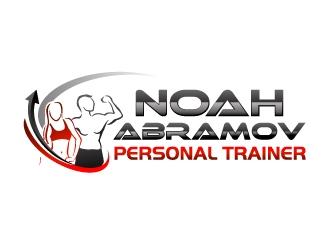 noah abramov - personal trainer logo design