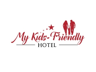 My kids-friendly hotel logo design