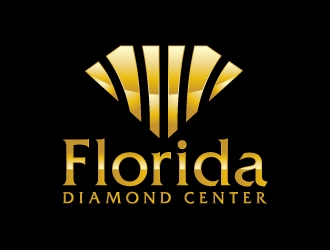 Florida Diamond Center logo design