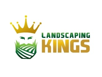 Landscaping Kings logo design