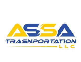 AS Trasnportation LLC logo design