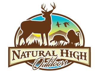 Natural High Outdoors logo design